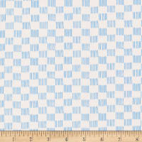 Cloud9 Fabrics Organic No Place Like Home Dorothy Ivory/Blue