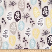 Cloud 9 Organic Sow & Sew Garden Party Blue/Gray