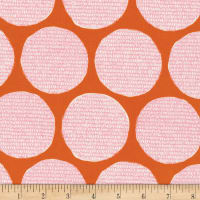 Cloud9 Fabrics Organic Terrestrial Disguise Orange/Pink