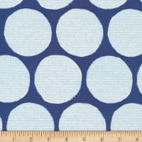 Cloud9 Fabrics Organic Terrestrial Disguise Navy/Blue