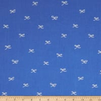 Birch Organic Wonderland Bows Blue