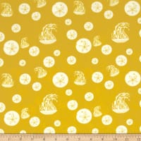 Birch Organic Maritime Sand Dollar And Jelly Yellow