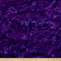 Hoffman Bali Batik Watercolors New Grape