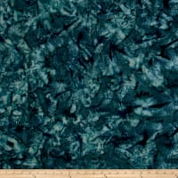 Hoffman Bali Batik Watercolors Teal