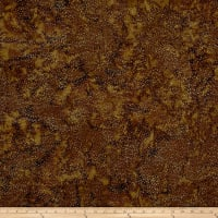 Hoffman Bali Batik Dot Chocolate