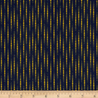The Moon Rabbit Moon Phases Stripe Navy/Beige