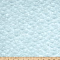 Kaufman Imperial Collection Waves Dusty Blue