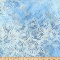 Kaufman Northwoods Batik Metallic Ice