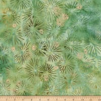 Kaufman Northwoods Batik Metallic Pine