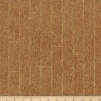 Kaufman Shades Of The Season Wood Planks Brown