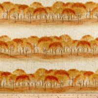 Kaufman Sound Of The Woods Trees Rows Autumn