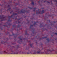 Blossom Batiks Valley Forest Flowers Fuchsia
