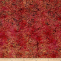Blossom Batiks Valley Forest Flowers Heliconia