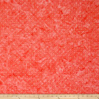 Blossom Batiks Valley Pin Dot Grapefruit