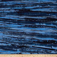 Blossom Batiks Valley Fossil Midnight Blue