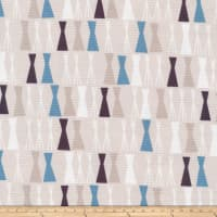 Cloud 9 Organics Sow & Sew Sticks Canvas Blue/Grey