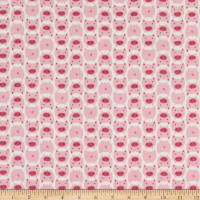 Cloud 9 Dolittles Pig Flannel Organic Pink