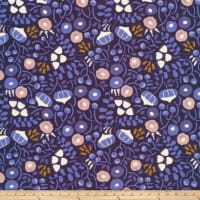 Cloud 9 Sweet Nothings Poplin Floral Organic Navy/Pink - Exclusive