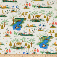 Cotton + Steel Rifle Paper Co. English Garden Garden Toile Cream