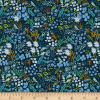 Cotton + Steel Rifle Paper Co. English Garden Meadow Blue