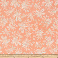 Cotton + Steel Rifle Paper Co. English Garden Toile Peach
