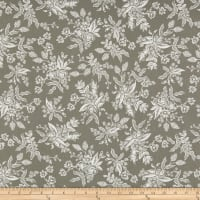 Cotton + Steel Rifle Paper Co. English Garden Toile Gray