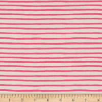 Cotton + Steel Rifle Paper Co. English Garden Stripes Pink