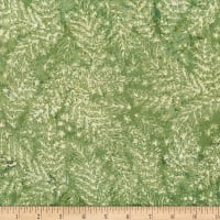 Hoffman Bali Batik All Over Leaf Leaf