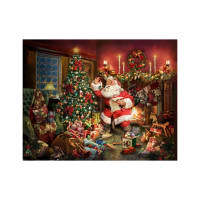 "Hoffman Digital Ol' St. Nick 36"" Santa Panel Christmas"