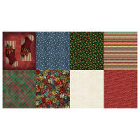 "Hoffman Digital Ol' St. Nick 78"" Fat Quarter Christmas Prints Panel Christmas"