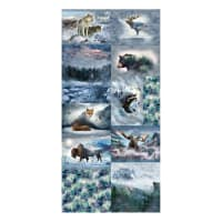 "Hoffman Digital Call Of The Wild 90"" Wildlife Scenes Panel Breeze"