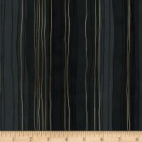 Precious Metals Sterling Stripes Metallic Onyx