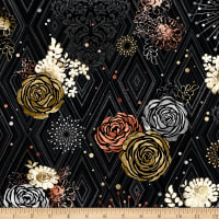 Precious Metals Adornment Glitter Rose Gold