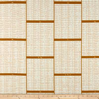 Cotton + Steel Steno Pool Shorthand Caramel