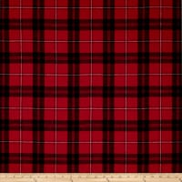 Home Accent Montana Faux Wool Classic Red