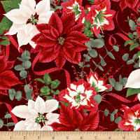 Let It Sparkle Holiday Bouquet Radiant Metallic Crimson