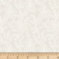 Let It Sparkle Holiday Lace Winter White