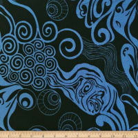 Liverpool Double Knit Underwater Blue/Black