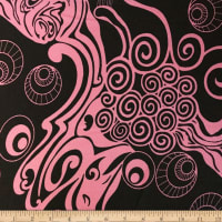 Liverpool Double Knit Underwater Pink/Black