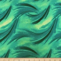 Liverpool Double Knit Waves Jade/Mint
