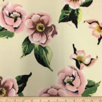 Liverpool Double Knit Winter Roses Cream