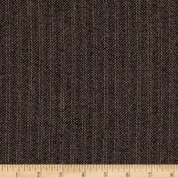 Herringbone Wool Suiting Brown/Multi