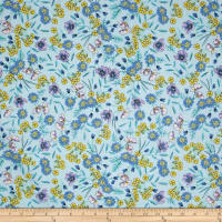 Easycare Broadcloth Fling Blue