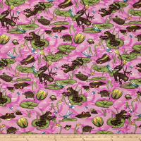 Easycare Broadcloth Frog Pond Pink