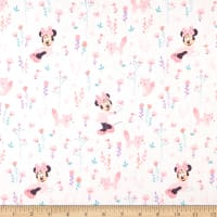 Mickey & Minnie Mouse Little Meadow Little Fox Pink
