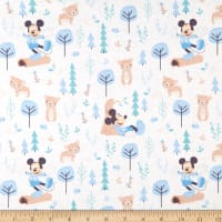 Mickey & Minnie Mouse Little Meadow Little Bear Blue