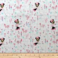Mickey & Minnie Mouse Little Meadow Little Fox Bambino Pink