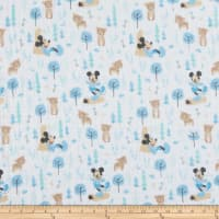 Mickey & Minnie Mouse Little Meadow Little Bear Bambino Blue