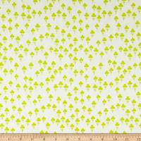 Cotton + Steel Front Yard Clovers Green