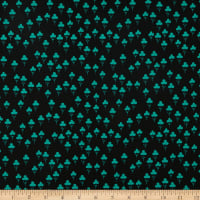 Cotton + Steel Front Yard Clovers Teal